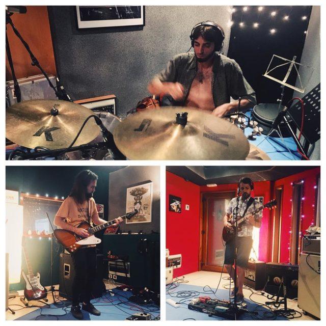 Hoy en el estudio hemos tenido a Mamfero!! atopedefader rockhellip