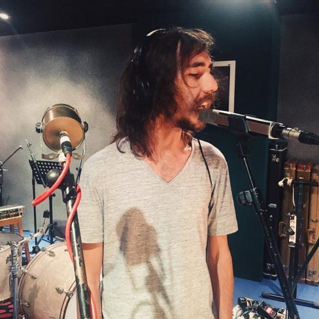 Grabando voces con manolecter para la nuevas canciones de wildripplehellip